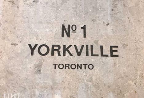1 Yorkville Avenue, Unit 2312, Toronto