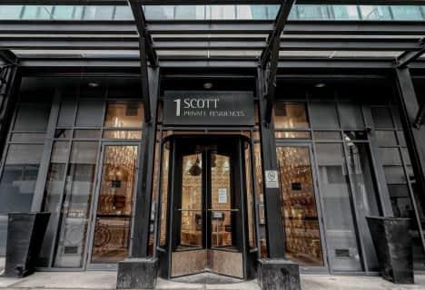 1 Scott Street, Unit 3105, Toronto