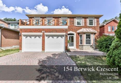 154 Berwick Crescent, Richmond Hill