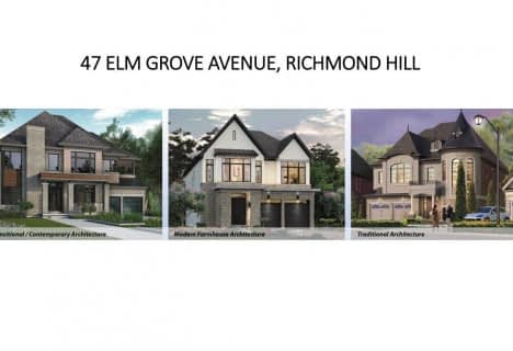47 Elm Grove Avenue, Richmond Hill