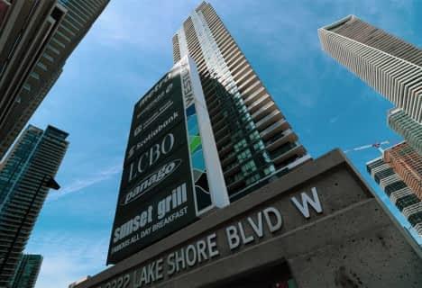 2200 Lake Shore Boulevard West, Unit Uph #, Toronto